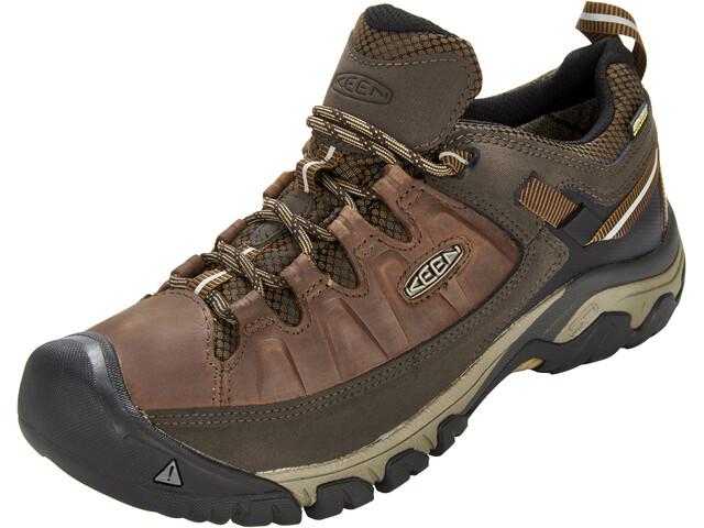 Keen Targhee III WP Shoes Men Big Ben/Golden Brown